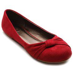 Ollio Women's Shoe Ballet Faux Suede Flat (5.5 B(M) US, Red) Ollio http://www.amazon.com/dp/B00GM12CB6/ref=cm_sw_r_pi_dp_-7zcvb0DZ8VCX