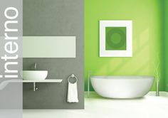 Bathroom Design Related Post From Lime Green Bathrooms Fresh Lime Green Bathrooms Lime Green Bathroom Ideas : Lime Green Bathroom Ideas Bathroom Design Ideas Gallery : [Cqjypm.Com] Amazing Luxury Home Design and Decorations references Green Bathroom Interior, Lime Green Bathrooms, Bathroom Green, White Bathroom, Bathroom Color Schemes, Bathroom Paint Colors, Lime Green Walls, Green Tiles, New Bathroom Designs