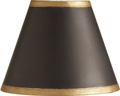 drum lamp shade in black linen fabric with metallic gold lining. Black Bedroom Furniture Sets. Home Design Ideas