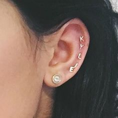 Image result for kylie jenner ear piercings