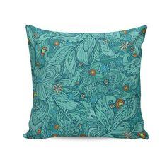 Capa para almofada Blue natural pattern 45x45 - PRINCE ST