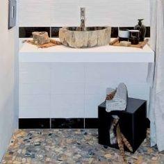 Petrified Wood Sink approx 45 cm x 35 cm x 15 cm bathroom wash basin stone Wood Sink, Wood Bathroom, Bathroom Wall Decor, Bathroom Flooring, Fossilized Wood, Petrified Wood, Cloakroom Sink, Stone Sink, Modern Vanity