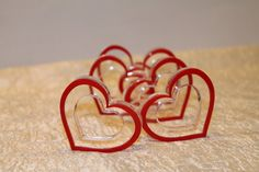don't these remind you of the early 70s when everything seemed to be crazy plastic? for your party - don't forget!Happy Valentine's Day, 2016! jh