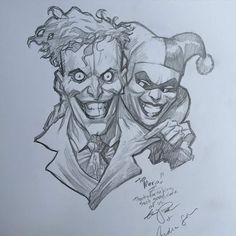 The Joker and Harley Quinn by Eric Powell *