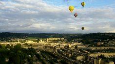 Balloons over Bath