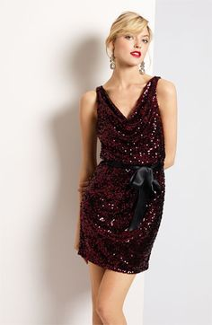 Now that's a nice looking Christmas party dress
