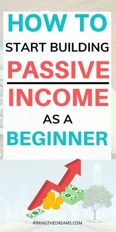 Passive Income Streams, Creating Passive Income, Earn Money From Home, Way To Make Money, Money Fast, Big Money, Finance Jobs, Online Income, Investing Money