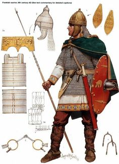 Frankish Warrior 6th Century AD
