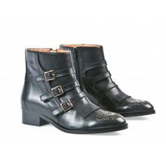 DAMSEL - BOOTS - CUIR - Andre