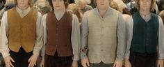 groomsmen will be hobbits