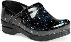Nursing Shoes - Dansko Professional Patent Clog STARGAZER