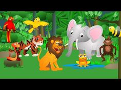 What do the animals say ? - (Jungle) - Song 4'20 - https://www.youtube.com/watch?v=y5pSL83c1ck