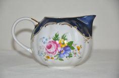 Soviet Vintage porcelain Creamer, 1980-s. From Russia / USSR/ Retro Home Decor,