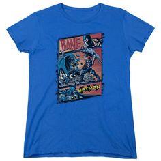 Batman Epic Battle Royal Blue Womens T-Shirt