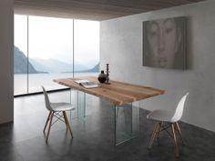 Tavolo Glass Table - Angolo Design