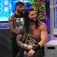 """Roman Reigns on Twitter: """"First #Smackdown of 2021. All pretenders can stay in 2020.… """" Roman Reigns Wwe Champion, Wwe Superstar Roman Reigns, Wwe Roman Reigns, Wrestling Stars, Wrestling Videos, Wrestling Wwe, Roman Reigns Tattoo, Roman Empire Wwe, Roman Reighns"""