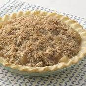 Extra Easy Gluten Free Streusel Apple Pie