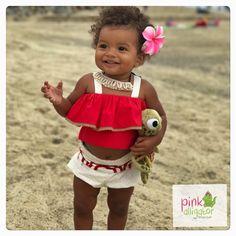 $54+ The sweetest baby Moana inspired set on the most adorable model @Giana_shay @pinkalligatorgirls