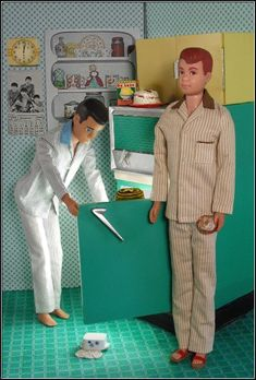 Midnight Snack from Hey Sailor Greetings - The boys decide that no time is a good time for Barbie's tuna surprise.