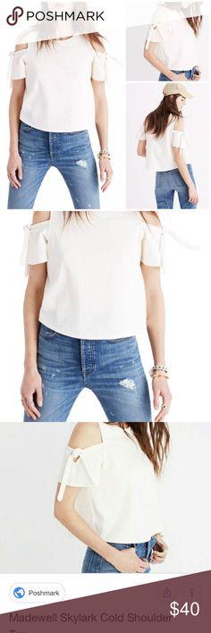 f2a3a27484e New Madewell skylark top blouse Alexa chung Linen PRODUCT DETAILS new  without tags A swingy top