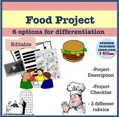 4 page document consists of:- Description of assignment- Checklist for Students- 2 Rubric sheets for grading (use one out of the two)Project allows students the choice of making or performing one of the following: skit, interview, comic strip, Children's book, storyboard, or powerpoint.