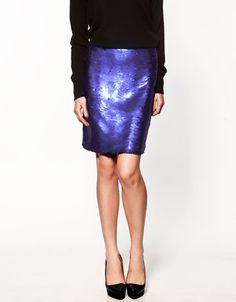 i have a thing for sequin skirts, just nowhere to wear them.