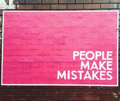 #PeopleMakeMistakes #Glasgow #LandscapePosters #Concept #Conceptual #Conceptualideas #Experiential #Subliminal #Interactive #Flyposting  People Make Mistakes, Making Mistakes, Experiential, Glasgow, Concept, How To Make, Make Mistakes