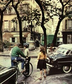 Peter Cornelius - Place de Furstemberg, Paris, 1960s.