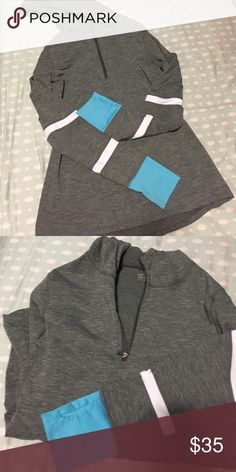 NWOT GapFit Half-zip Activewear Running Pullover GapFit Half-zip Activewear Running Pullover NWOT Perfect condition. Half-zip, thumb holes, reflective details, VERY flattering to body.  I answer any questions, consider all offers, and if you need anymore photos please ask! 😽 Gapfit Tops Sweatshirts & Hoodies