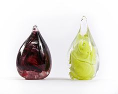 Sulfuros/ Vidrios de auotr/ Ariel Roses Handmade glass/ Ariel Roses