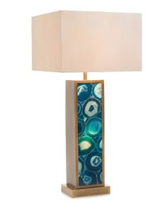 Illuminated Agate Table Lamp - Portable Lighting - Lighting - Our Products