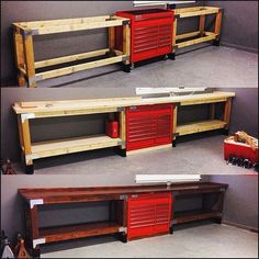 """Gefällt 1,625 Mal, 62 Kommentare - Harbor Freight Tools (@harborfreight) auf Instagram: """"#ThrowbackThursday - June, 2015, @cap2529 posted his custom-built workbench, incorporating a…"""""""