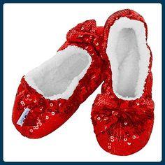 84c50c56f964 Snoozies Ballerina Bling Fleece Lined Slippers