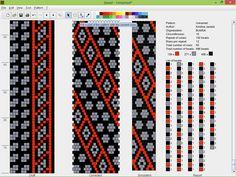16 around tubular bead crochet rope pattern Crochet Bracelet Pattern, Bead Crochet Patterns, Bead Crochet Rope, Beaded Bracelet Patterns, Beading Patterns, Crochet Russa, Bead Loom Bracelets, Bead Jewellery, Loom Beading