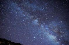 Lluvia de estrellas las Perseidas desde el Parque Nacional del Teide, Tenerife. Verano 2020 Clear Sky, Canary Islands, Tenerife, Stargazing, Northern Lights, Nature, Travel, National Parks, Summer Time