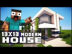 Large modern house tutorial minecraft xbox 360 1 home for Big modern house tutorial