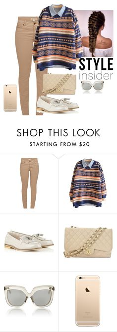 """Sin título #661"" by mafer-cmxxi on Polyvore featuring moda, Barbour, Chanel y Linda Farrow"