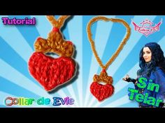♥ Tutorial: Collar Evie de gomitas (sin telar) ♥ - YouTube