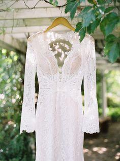 Photography: Sarah Kate, Photographer - sarahkatephoto.com Wedding Dress: Berta Bridal - www.bertabridal.com/   Read More on SMP: http://www.stylemepretty.com/2016/03/07/whimsical-ranch-wedding-in-texas/