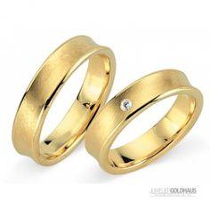 #Trauringe #Eheringe Gold Gelbgold - CERA3514