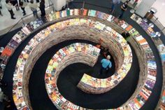 Tasarım Dünyası: 250.000 Kitaptan Oluşan Labirent!