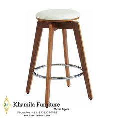 Kursi Mini Bar Kayu Minimalis (2) Mini Bars, Cafe Furniture, Stool, Interior, Modern, Home Decor, Trendy Tree, Indoor, Stools