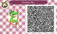 Virizion QR Code by Scarangel999 on DeviantArt
