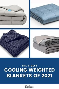Bearaby, Baloo, Hush—there are so many kinds of weighted blankets out there, but which one is right for you? Furthermore, what if you like the heft of a heavy blanket but don't want it to leave you sweaty? Presenting the best cooling weighted blanket to suit every need. #blanket #weightedblanket #home How To Fall Asleep Quickly, Best Humidifier, Heavy Blanket, Housewarming Party, Weighted Blanket, Kids Sleep, Knitted Blankets, Knitting Designs, Hush Hush