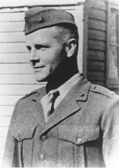First Lieutenant Alexander Bonnyman, Jr. US Marine Corps Medal of Honor recipient Battle of Tarawa, Gilbert Islands, World War II November 22, 1943.