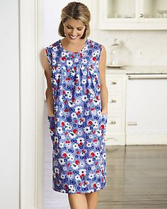Carole value priced Printed Sundresses are perfect for everyday wear and are available in a full range of sizes and prints.