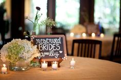 Cute tables www.rusticweddingchic.com