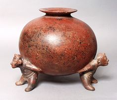 Vessel, Mexico, 200 B.C. - A.D. 500