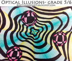 Optical illusions - grade 5/6