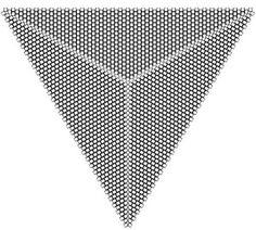 Šablona na trojúhelník ke stažení